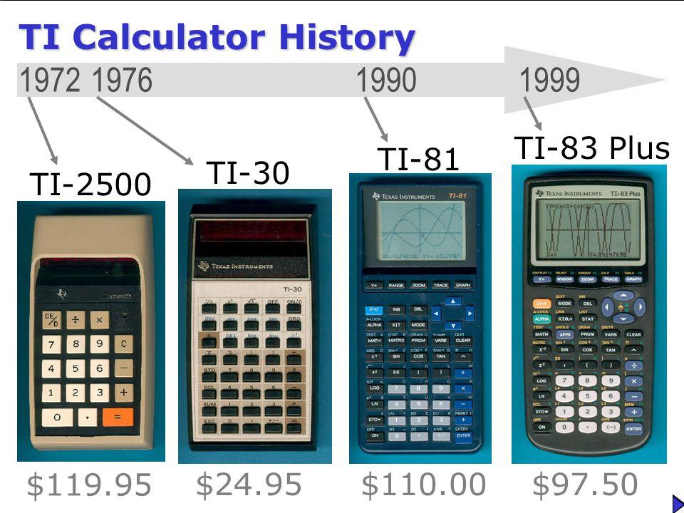 TI-83 Plus TI-83 Plus A Fuller Analysis TI-83 Plus – A Fuller ...