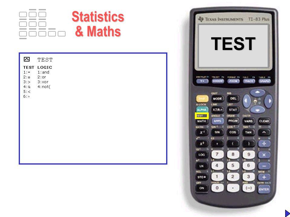 TI-83 Plus TI-83 Plus A Fuller Analysis TI-83 Plus – A