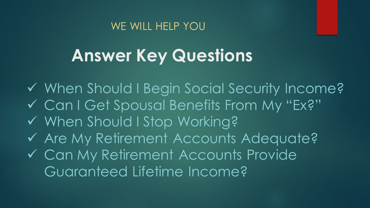 How Can You Maximize Your Social Security Retirement Benefit