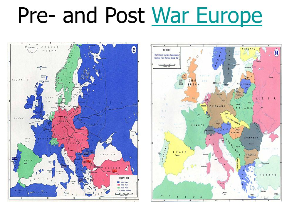 Pre and post war europewar europe what changes in the map of europe presentation on theme pre and post war europewar europe what changes in the map of europe were made after wwi presentation transcript gumiabroncs Image collections