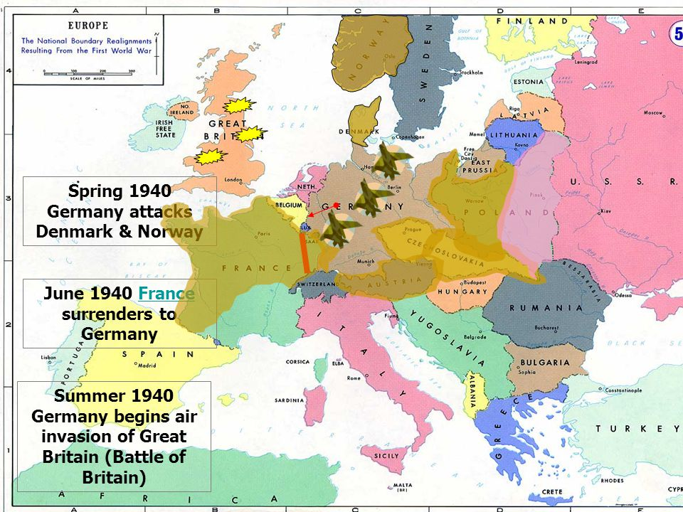 Wwi Germany Map.Pre And Post War Europewar Europe What Changes In The Map Of Europe