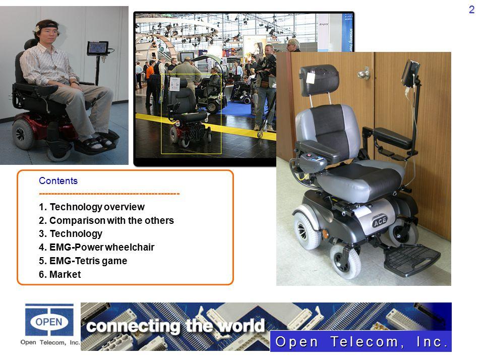 Open Telecom, Inc  (Freelz Wheelchair Controller) October