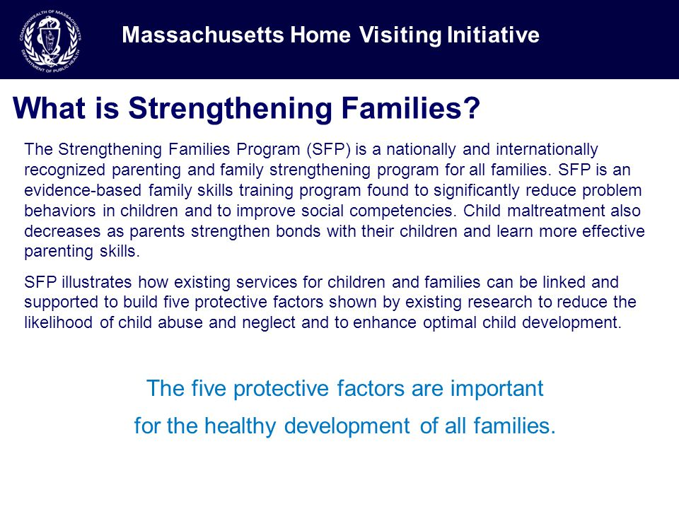 What is Strengthening Families.