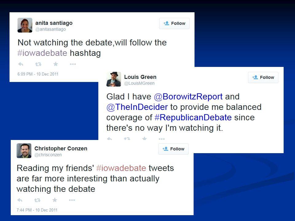 Live Tweeting a Presidential Primary Debate: Kyle Heim