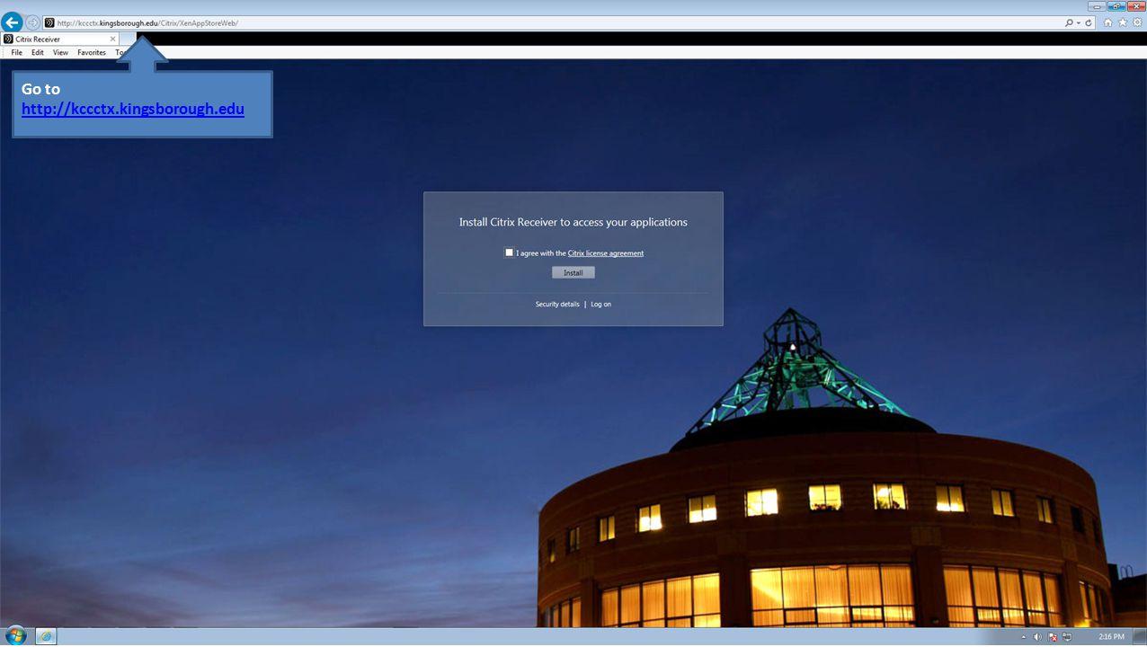 Installing Citrix Receiver - ppt download