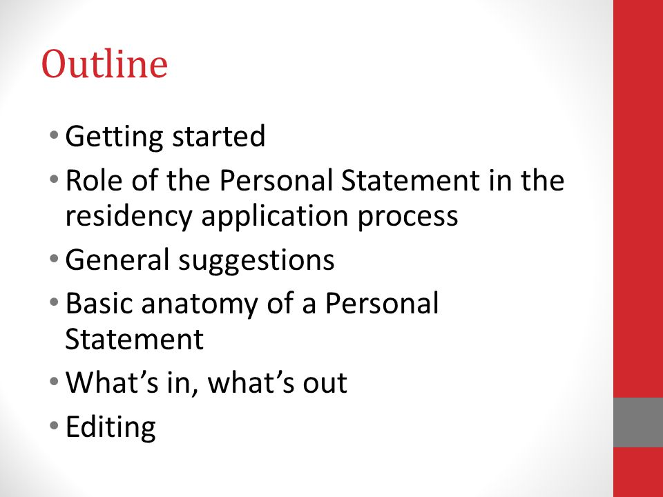 Make A Statement A Guide To Writing Your Personal Statement Angela