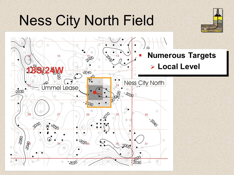 Ness City North Field   Numerous Targets   Local Level   Numerous Targets   Local Level