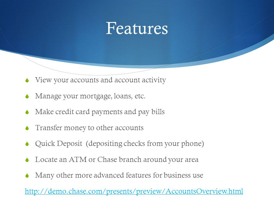 Chase Banking Maci Lemons  Getting Started  All you need to get