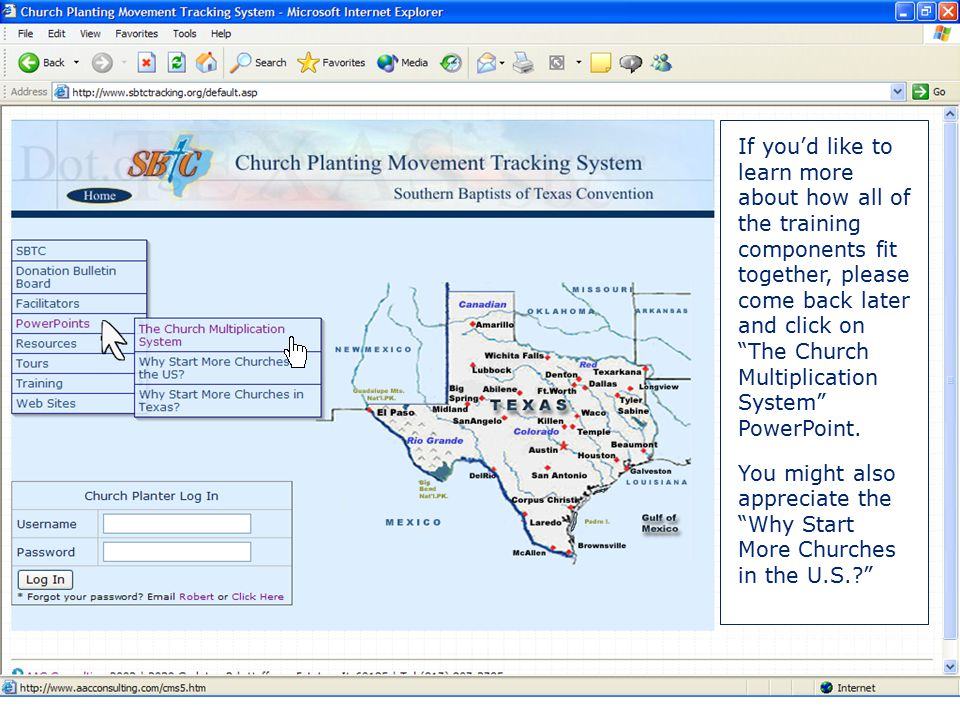 Welcome Welcome to the tour of this tracking system website