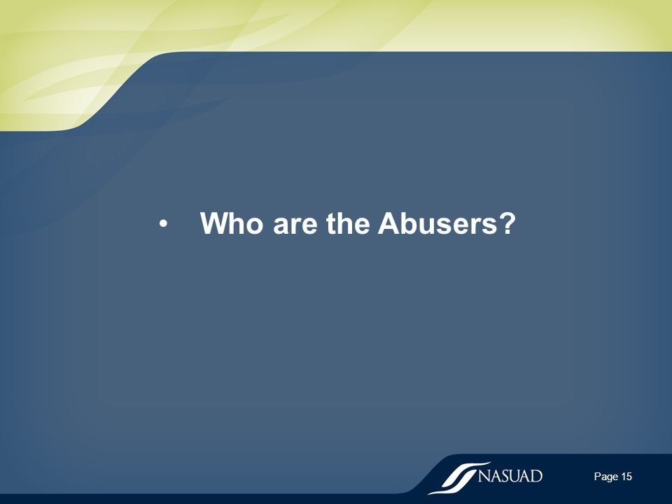 Who are the Abusers Page 15
