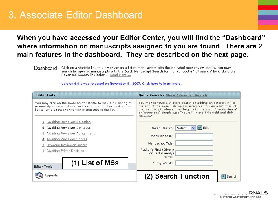 JJCO Online System MANUAL for Associate Editors  Table of
