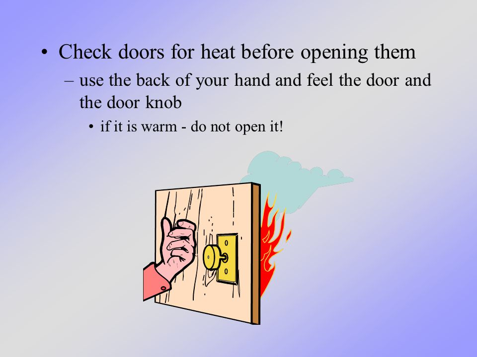 Home Escape Planning. What we will learn today We will learn about what to  do if you ever have a fire in your home. - ppt download