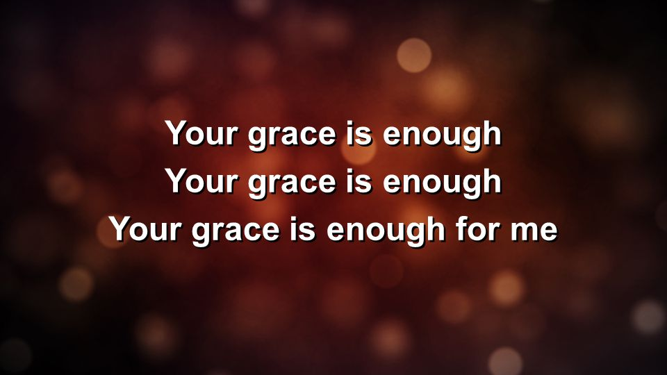 Grace Is Enough - Wiring Diagrams
