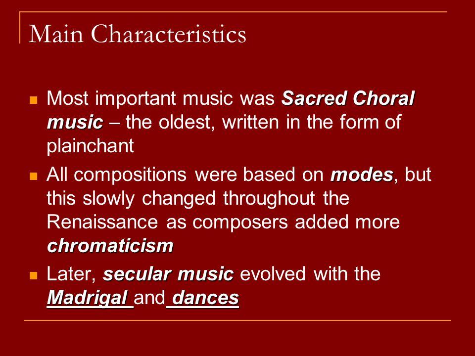 Medieval & Renaissance  Medieval Church Music 800 – 1400