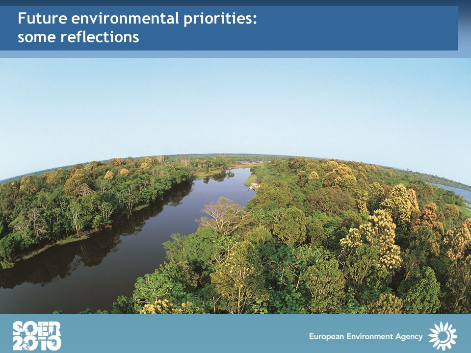Future environmental priorities: some reflections