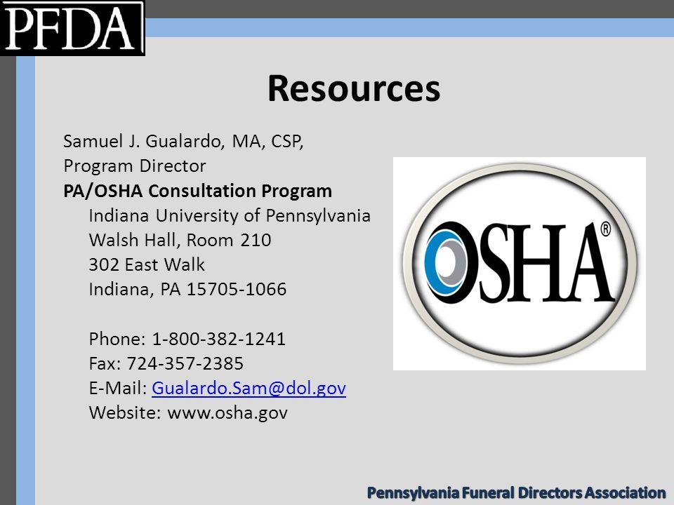 OSHA Compliance for the Funeral Home Kathleen K  Ryan