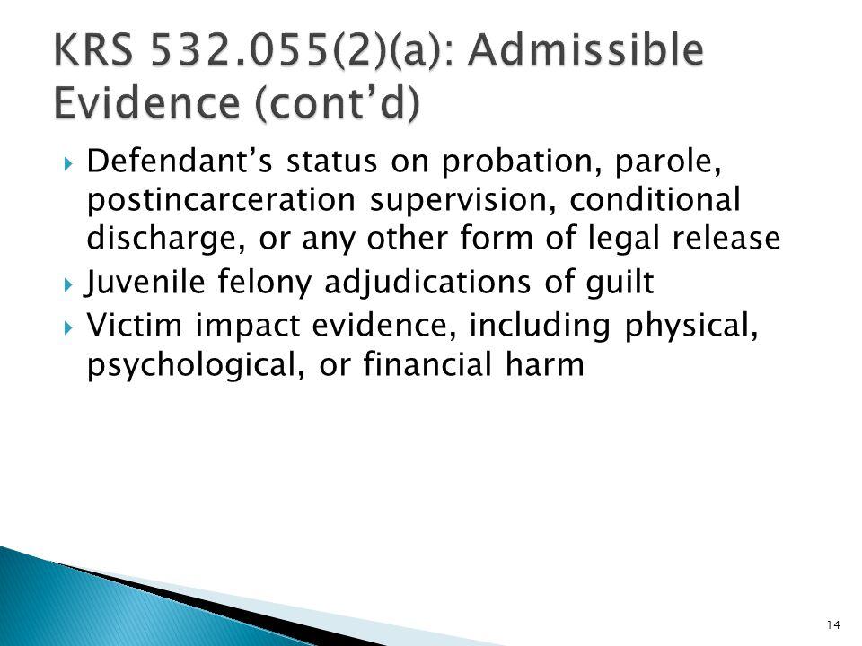 Litigating The Non-Capital Sentencing Hearing At Trial
