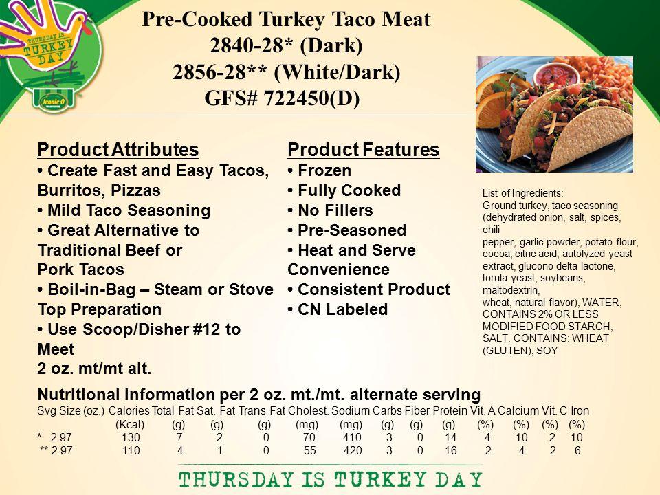 KEDC/KPC January 11, 2011 Jennie-O Turkey Store Commodity