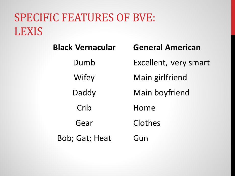black vernacular