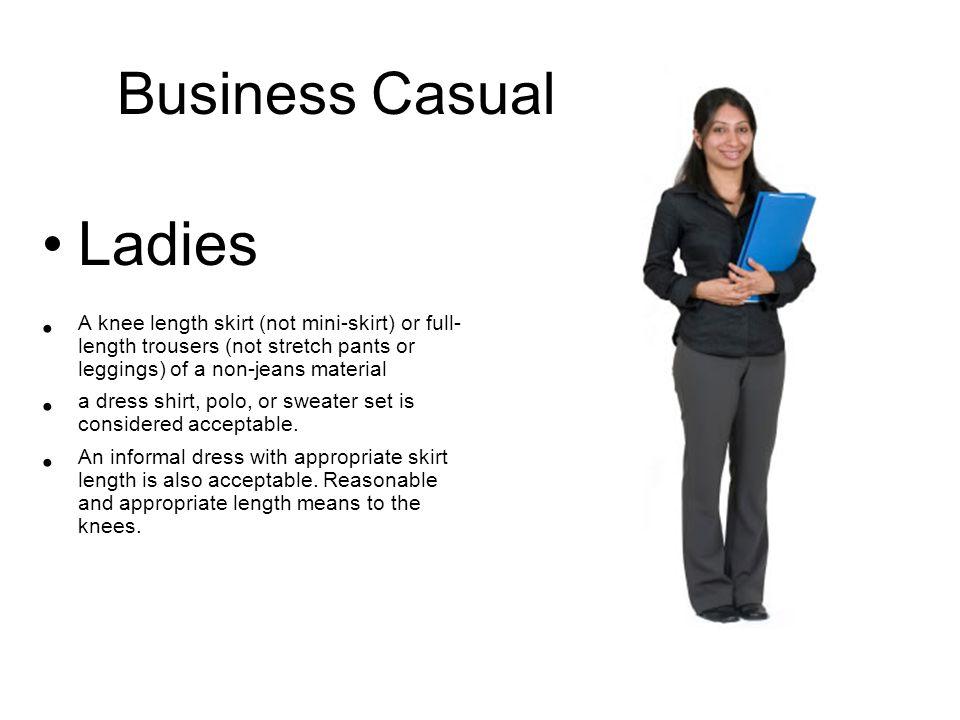 Business Casual La S A Knee Length Skirt Not Mini Skirt Or Full Length Trousers
