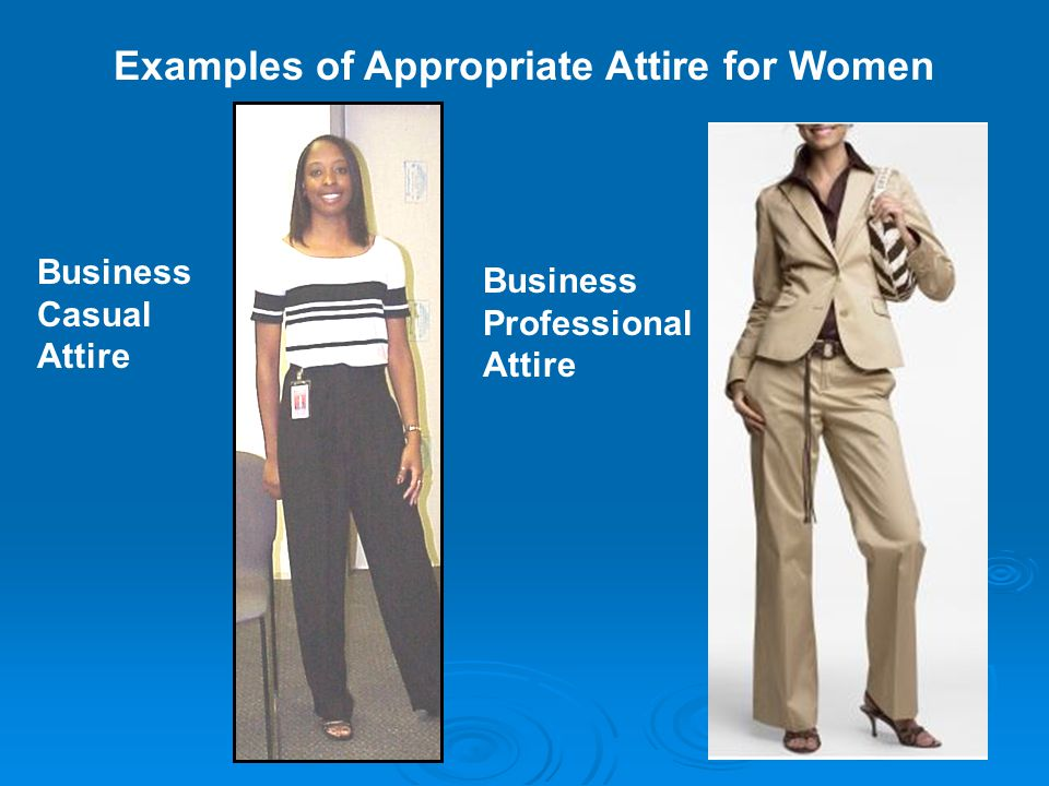 10 Examples Of Appropriate Attire For Women Business Casual Professional