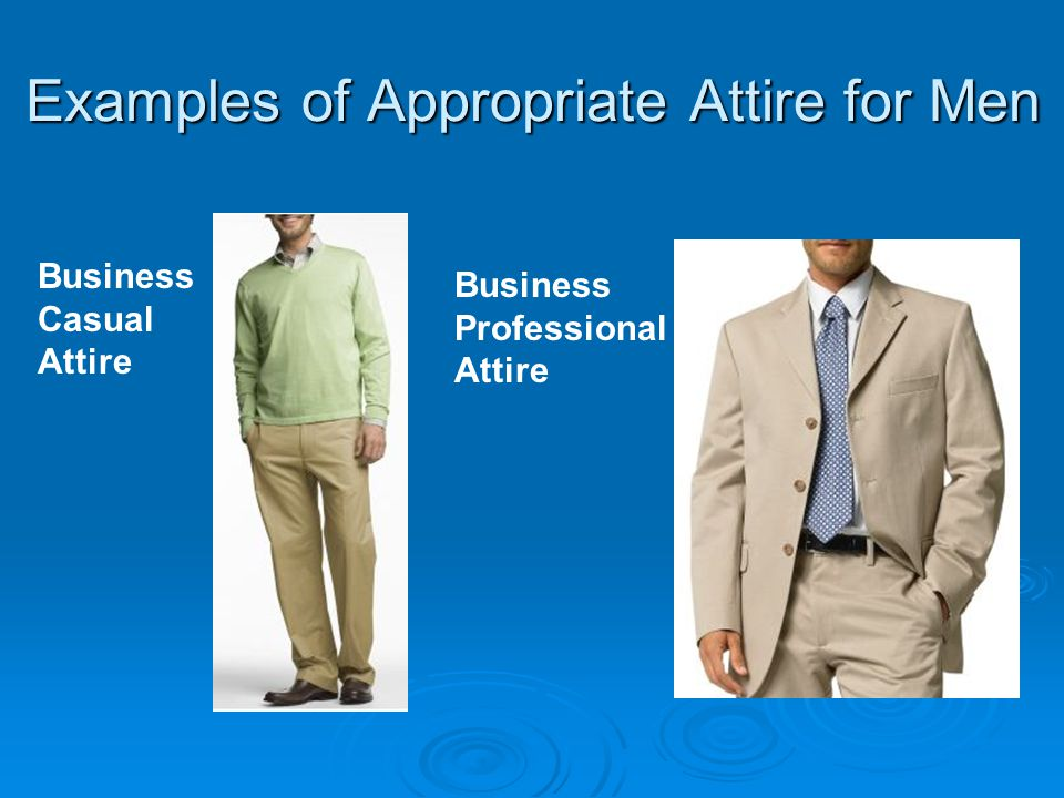 11 Examples Of Appropriate Attire For Men Business Casual Professional