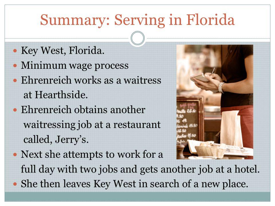serving in florida