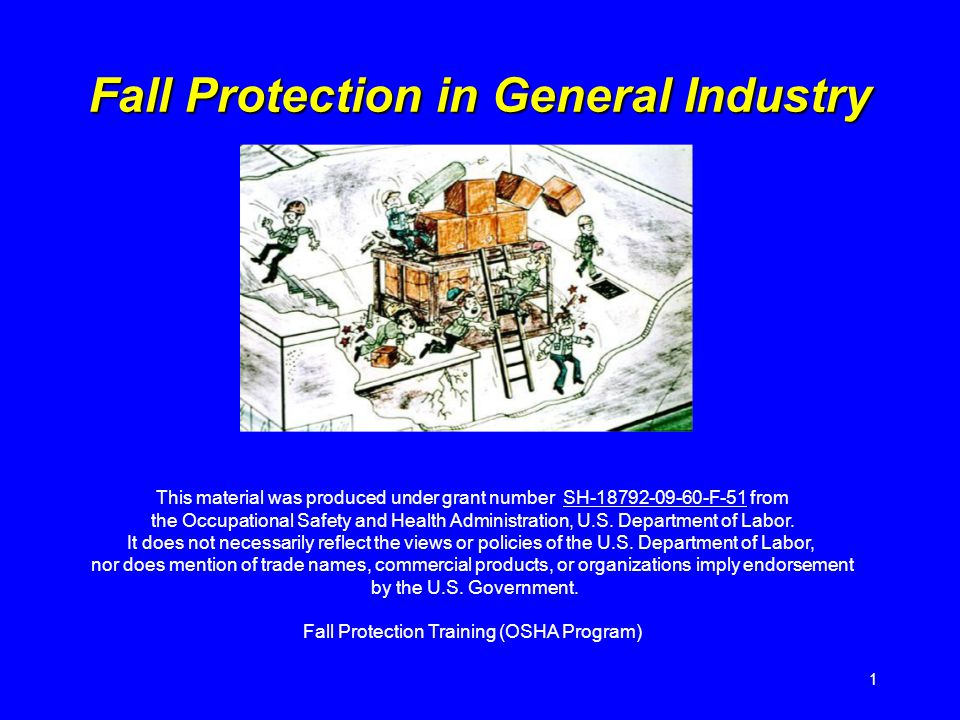 This material was produced under grant number SH F-51 from the Occupational Safety and Health Administration, U.S.