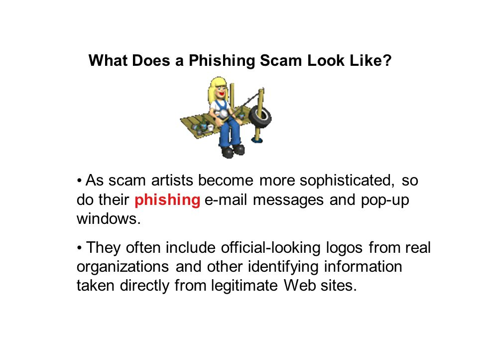 What Does a Phishing Scam Look Like.