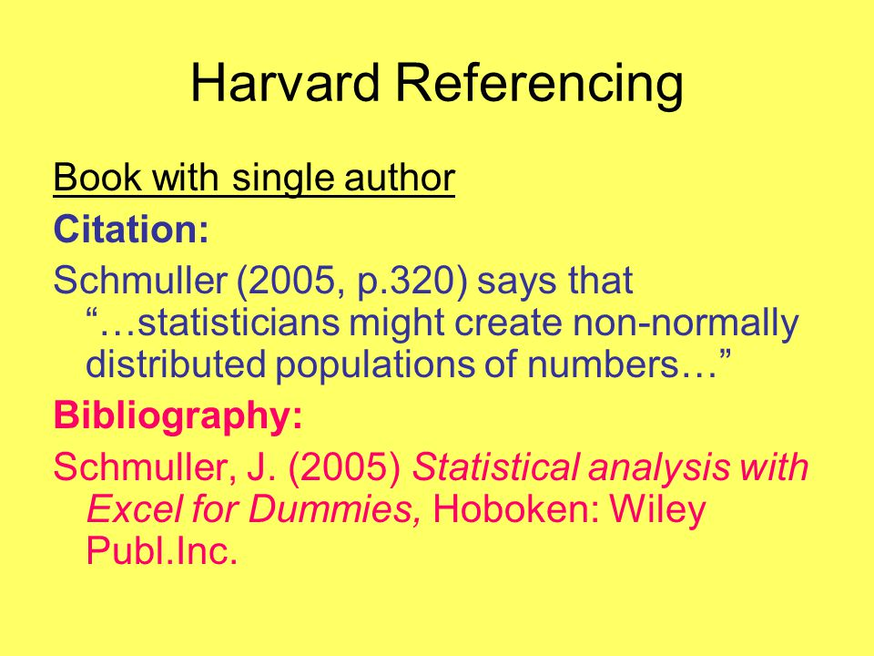 Harvard referencing or how to avoid plagiarism harvard referencing 8 harvard referencing book ccuart Image collections
