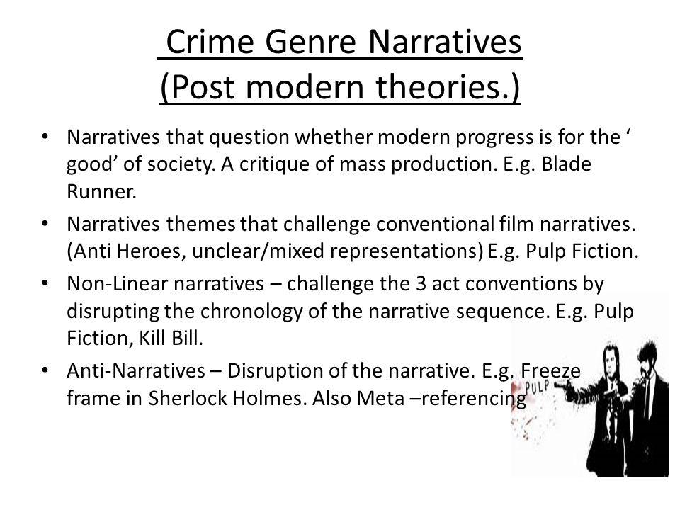 Crime Genre Emily Hemmings Crime Genre Research   - ppt download