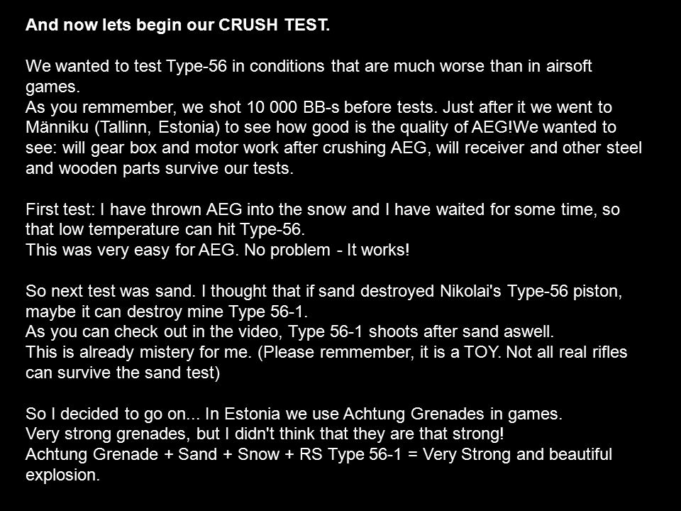 test to see if you have a crush