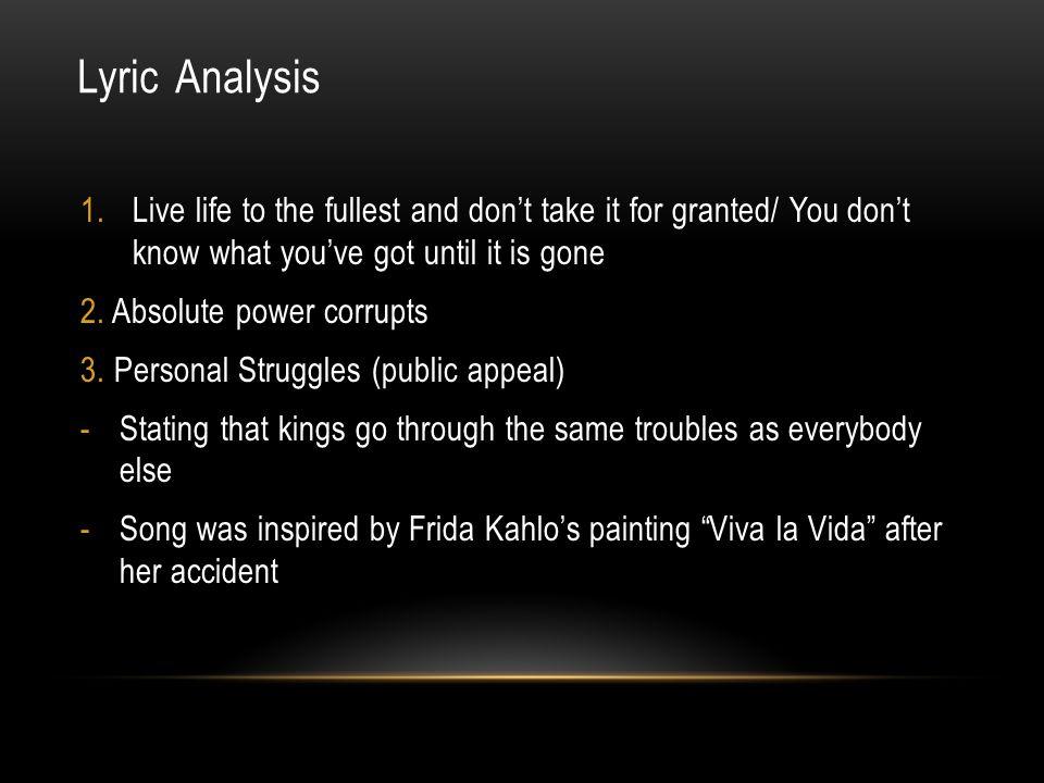 Lyric coldplay viva la vida lyrics : 4KUW Viva La Vida By Coldplay. - ppt download