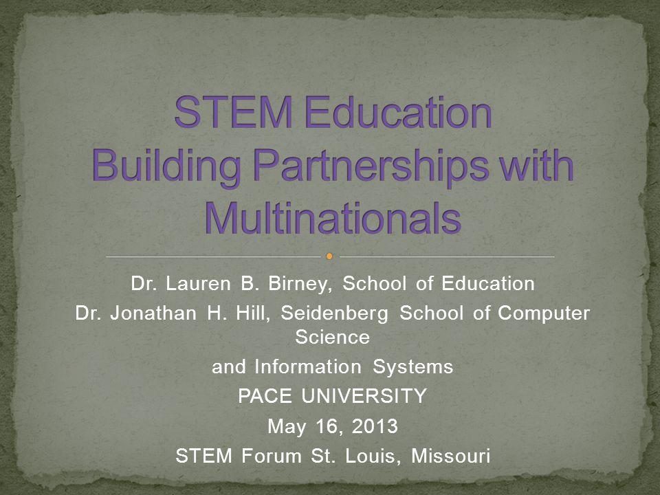 Dr  Lauren B  Birney, School of Education Dr  Jonathan H