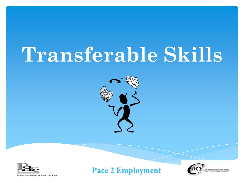Pace 2 Employment Transferable Skills