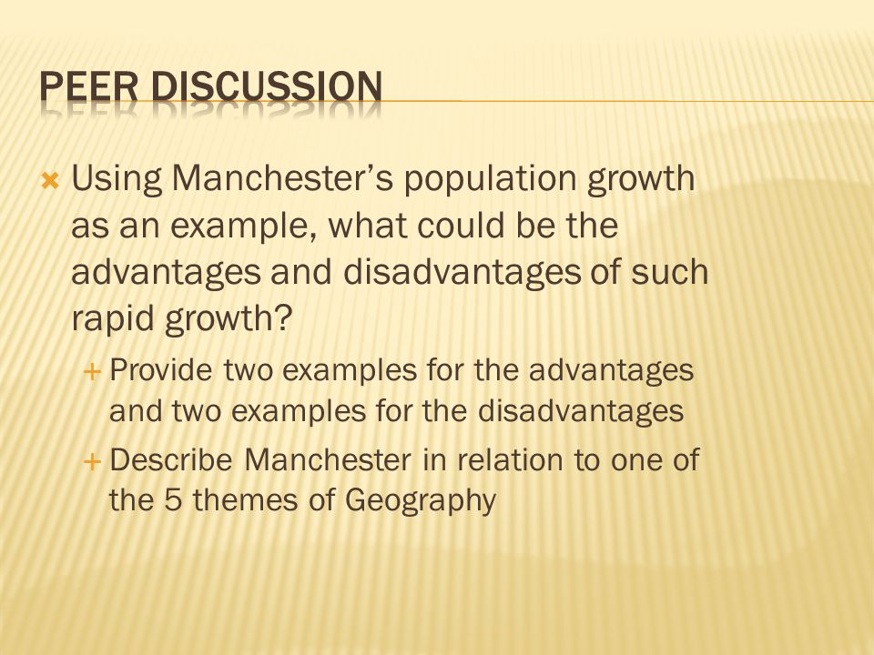 disadvantages of rapid population growth