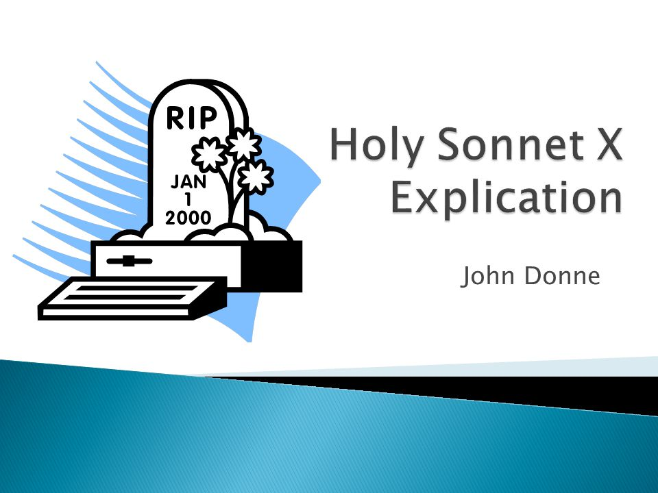 an analysis of holy sonnet 14 by john donnes Technical analysis of batter my heart (holy sonnet 14) literary devices and the technique of john donne.