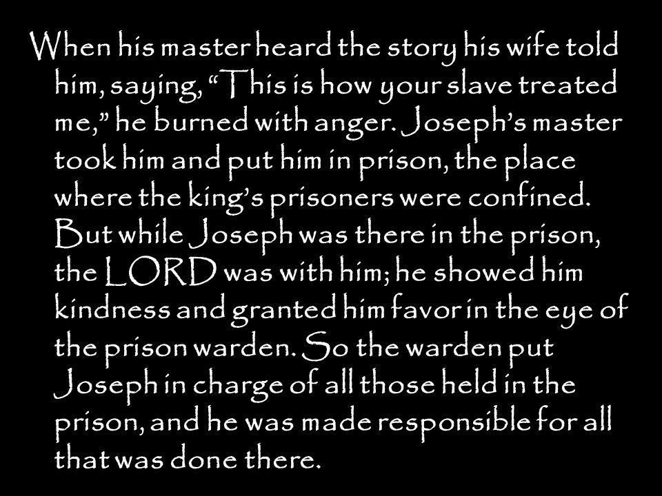 Now Joseph Had Been Taken Down To Egypt Potiphar An Egyptian Who
