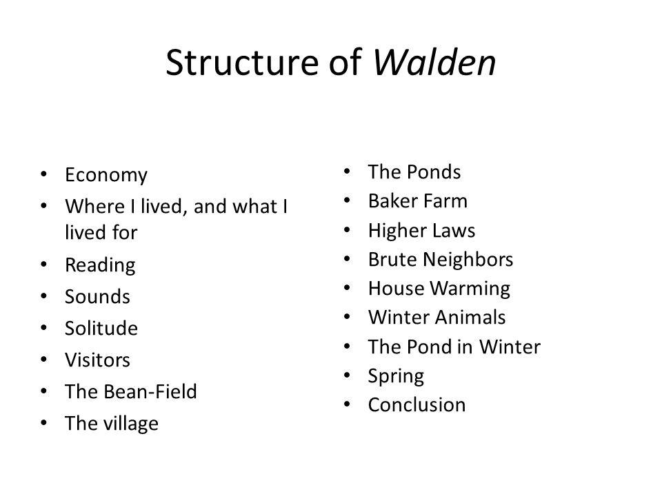 walden economy