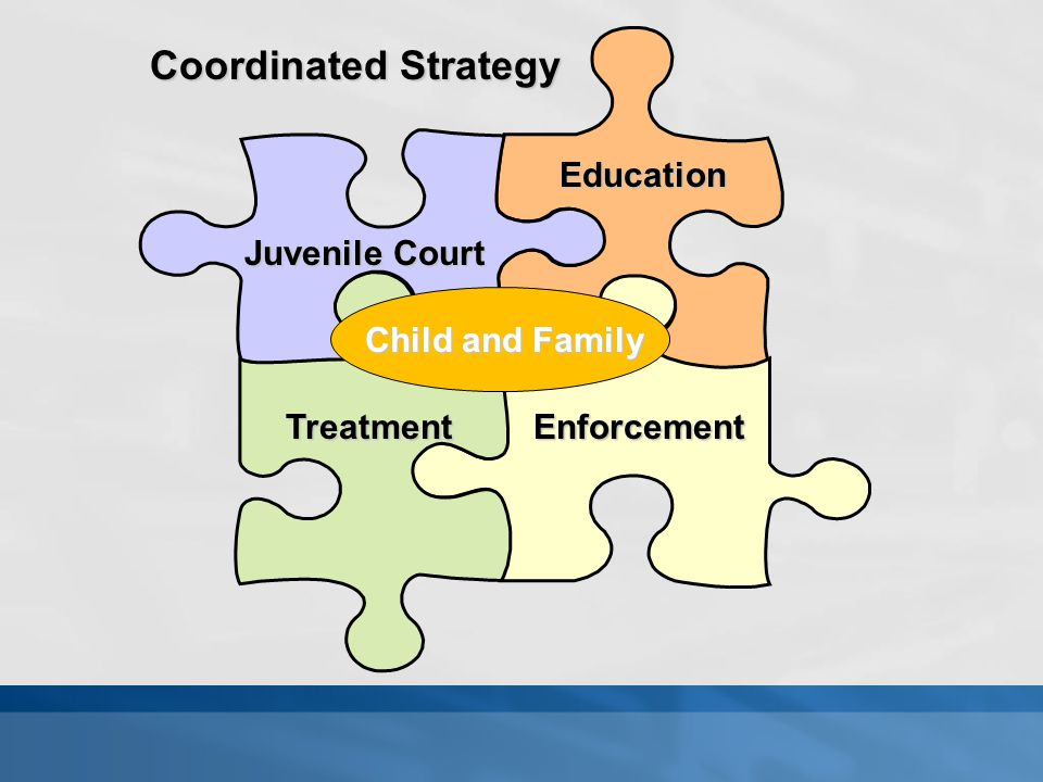 Juvenile Court Education TreatmentEnforcement Coordinated Strategy Child and Family
