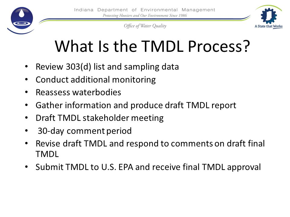 What Is the TMDL Process.
