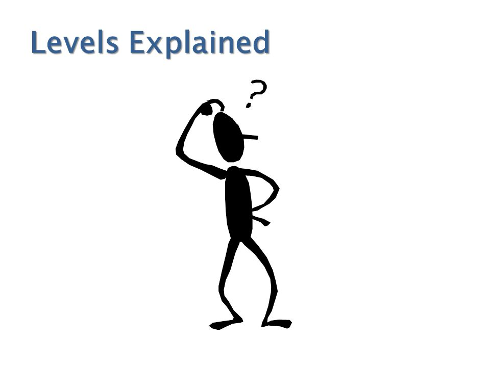 Levels Explained