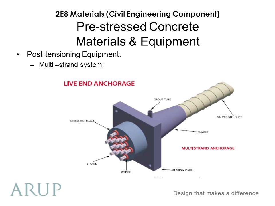 2E8 Materials (Civil Engineering Component) Civil