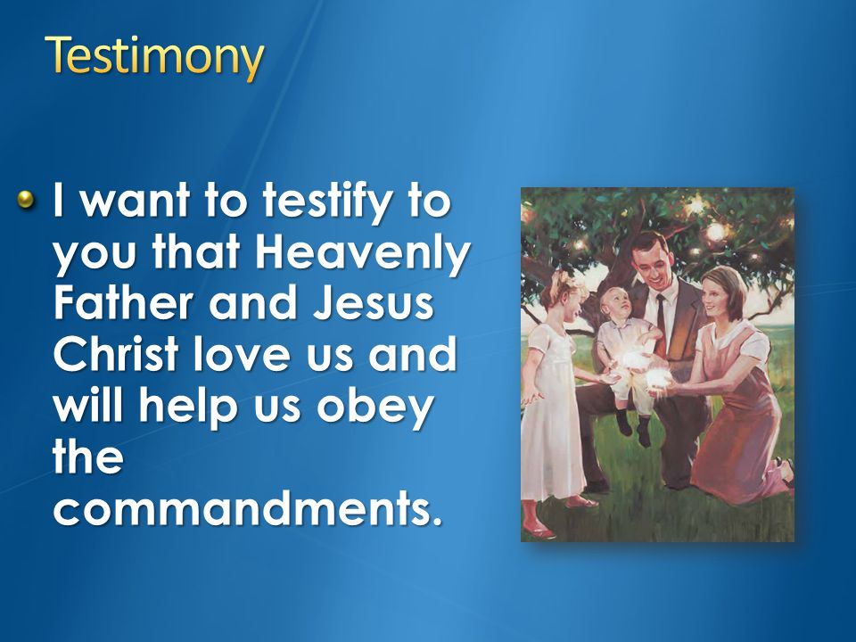 What commandment did Ma-ling obey. How did Heavenly Father help her.