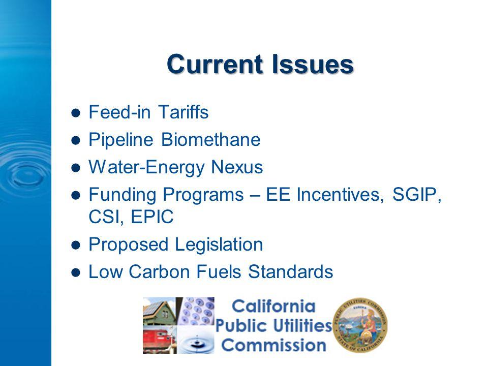 CASA Energy Workgroup Regulatory Update SCAP Energy