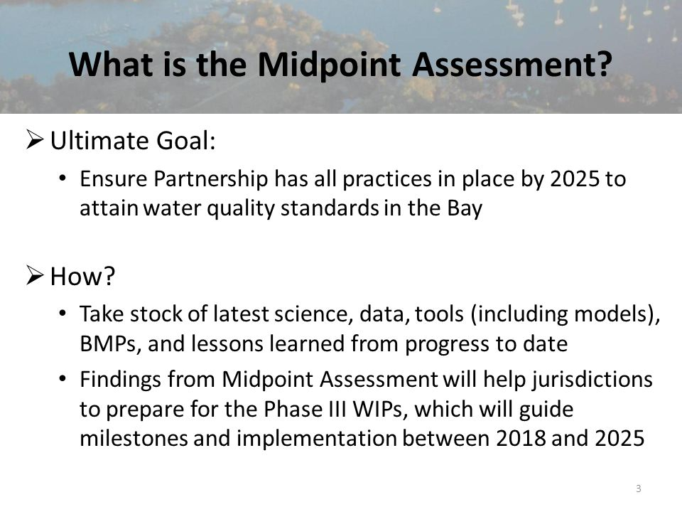 What is the Midpoint Assessment.