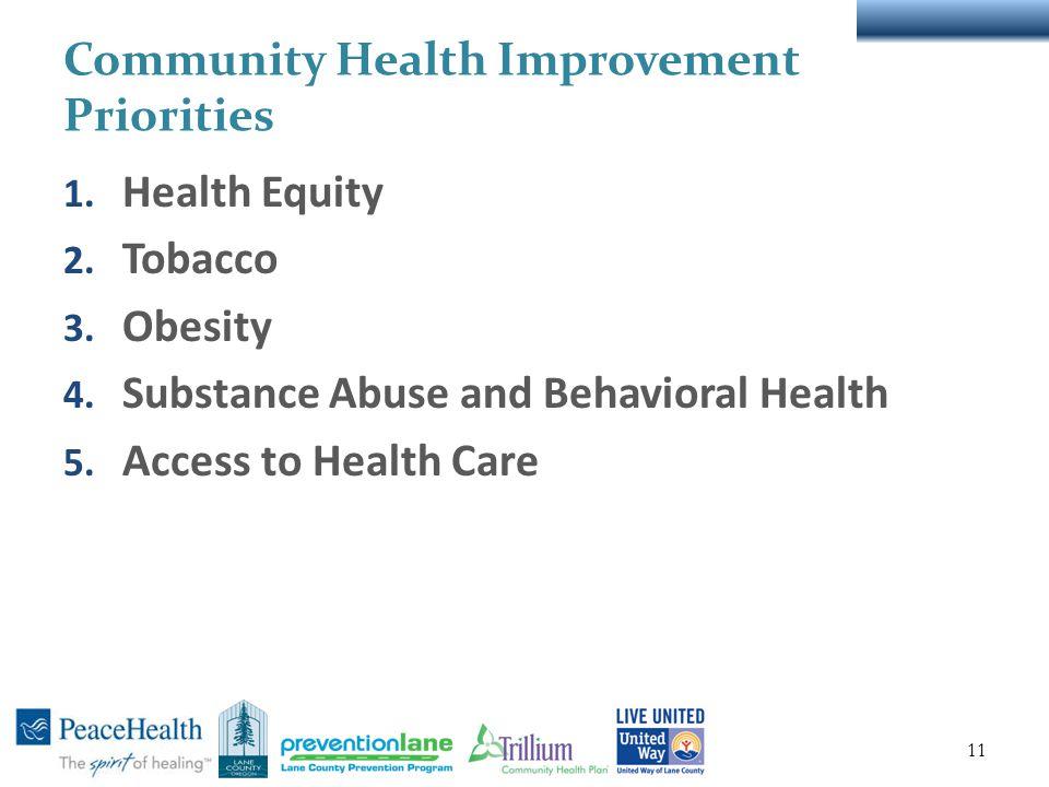 Lane County Community Health Assessment & Community Health