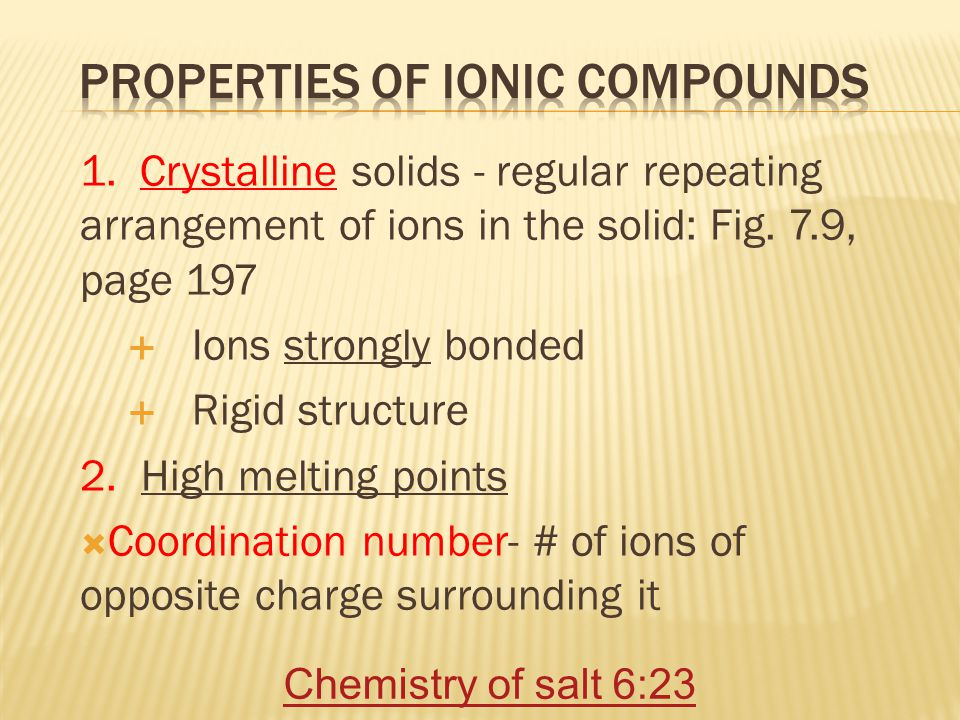Ionic Bonding = Ca 3 P 2 Formula Unit chemical formula - shows kinds and numbers of atoms in smallest representative particle of substance.