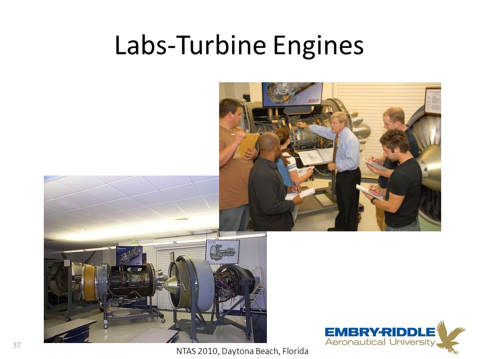 NTAS 2010, Daytona Beach, Florida Labs-Turbine Engines 37
