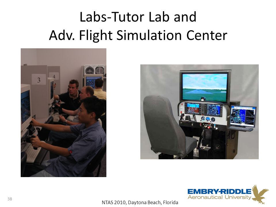 NTAS 2010, Daytona Beach, Florida Labs-Tutor Lab and Adv. Flight Simulation Center 38